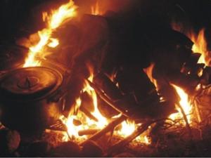 Fire Pit - bong fire - Temascal