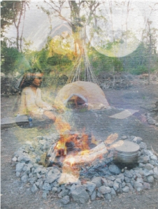 Sweat lodge ritual. Facebook Page